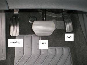 Ayak pedal seti
